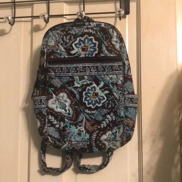 Vera Bradley Java blue backpack